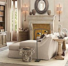 Beige Living Room Ideas 17
