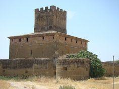 Castillos Españoles: CASTILLO PALACIO DE LA BALLESTA - ARDISA - ZARAGOZA