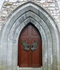 Doors of Ireland - Drumcliffe Church, Sligo