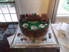 poker cake - ALL IN Poker Cake, Grooms, Wedding Cakes, Desserts, Food, Tailgate Desserts, Boyfriends, Deserts, Wedding Pie Table