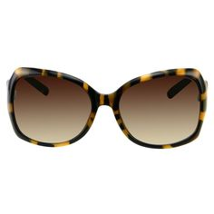 Women's Oversize Square Sunglasses - Tortoise, Brown