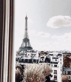 Paris, travel, and buildings image Tour Eiffel, Map Vintage, Beautiful World, Beautiful Places, I Love Paris, Belle Villa, Paris Ville, Landscape Illustration, Illustration Art