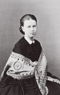 Grand Duchess Maria Alexandrovna, the only surviving daughter of the Emperor Alexander II.