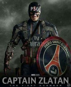 Captain Zlatan pense na perfeição ♡