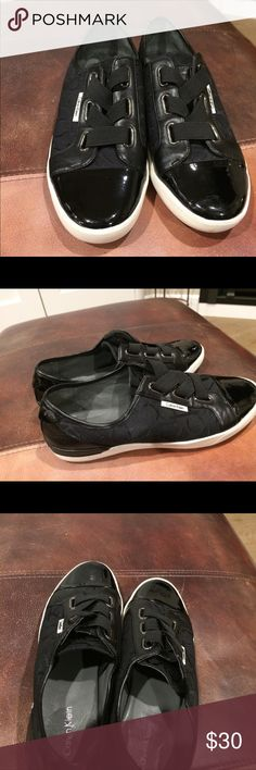 CALVIN KLEIN TRINAH SHOES In a great condition. Make an offer if interested Calvin Klein Shoes Sneakers