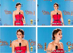 "This line nails it  ""And because she's Jennifer Lawrence and she's awkward and perfect and she wins everything always."""