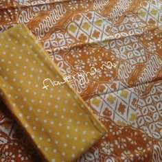 Batik Flowery Hana @floweryhana Instagram photos | #brown #yellow #batik