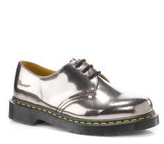 Dr Martens 1461 PEWTER KORAM FLASH - Doc Martens Boots and Shoes