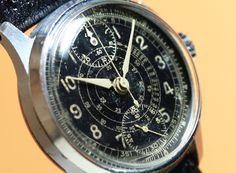 BOVET Minute Recorder Chronograph Cal.170 (Venus) 1940'S