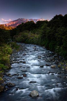 Whakapapa River, North Island // near Tongariro Nat'l Park & Lake Taupo // photo by Richard Furhoff