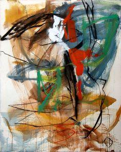 Ebloui, 1998, 163 x 130 cm