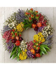 Farmers Market Herb Wreath