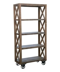 Another great find on #zulily! Trolley Bookcase #zulilyfinds