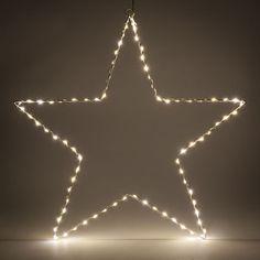 Stella luminosa led H 58 cm
