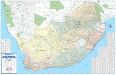 Image result for map of south africa 1:50000