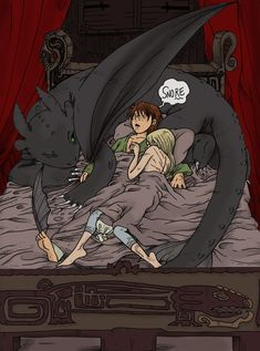 HTTYD - Scarred by secondlina.deviantart.com on @deviantART