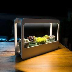 J&C®️️ LED Pflanzenlampe innen 14W 4000K Tageslicht Vollspektrum Pflanzenbeleuchtung mit Halter AC220-240V 850LM weiss Wachstumslicht Mini Garten für Zimmerpflanzen Blumen und Gemüse