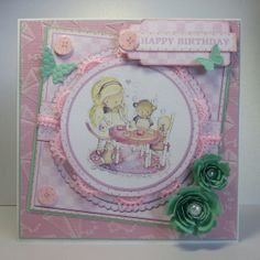 Rachelle Anne Miller Collection from Crafters Companion. Embossalicious folder 'Lets fly a kite' from Die'sire