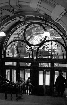 Old Kirkgate market entrance Bradford -