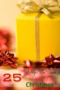 25 Ways To Save Money For Christmas - http://www.popularaz.com/25-ways-to-save-money-for-christmas/