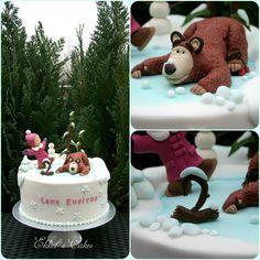 Masha and the BEAR Winter Cake
