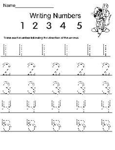 Number Four Worksheet  Free Preschool Printable  CC General