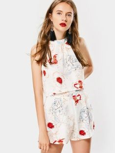 GET $50 NOW   Join Zaful: Get YOUR $50 NOW!https://m.zaful.com/bowknot-floral-tank-top-and-high-waisted-shorts-p_311705.html?seid=8533039zf311705