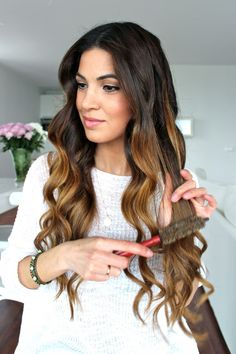 Soft Bouncy Curls Tutorial — Negin Mirsalehi