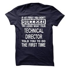 Technical Director T-Shirts, Hoodies. ADD TO CART ==►…