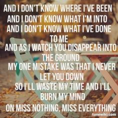 the pretty reckless, miss nothing