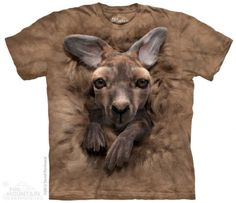 Baby Kangaroo T-Shirt at theBIGzoo.com, a toy store with over 12,000 products.
