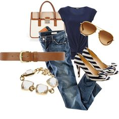 Navy & Tan....oooh i like this