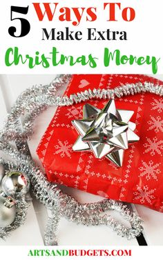 Looking for ways to make extra money for Christmas this year? If so, check out this blog post! In this post, I share 5 ways how I make extra Christmas money for my shopping!