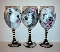 Hey, I found this really awesome Etsy listing at https://www.etsy.com/listing/261808040/custom-painted-pet-portraits-set-of-3
