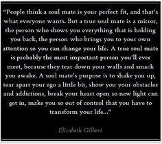 Elizabeth Gilbert on soul mates