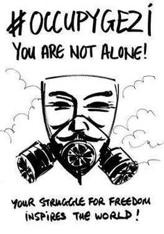 #solidarity #occupygezi  #direngeziparki