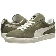 PUMA Suede Classic NC Women's Classic Shoes ($65) ❤ liked on Polyvore featuring shoes, athletic shoes, suede shoes, laced up shoes, traction shoes, laced shoes and puma footwear