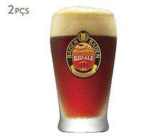 Jogo de Copos para Cerveja Baden Round