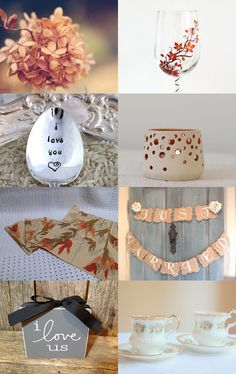 Romantic Autumn Dinner For Two by Marilyn on Etsy--Pinned with TreasuryPin.com