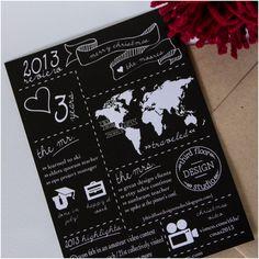 Third Floor Design Studio Infographic Christmas Card Design!