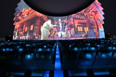 State-of-the-art theater attraction at the Tonguan Kiln International Cultural and Tourism Center in Changsha, CN. Changsha, Cultural Center, Glaze, Attraction, Theater, Tourism, Magic, Culture, Art