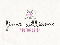 Premade photographie logo photographie logo filigrane caméra logo design. Fichier psd de téléchargement immédiat téléchargement numérique