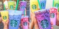 How to Correctly Order Starbucks' Rainbow Drinks