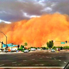 Haboob!  Arizona dust storm rolling into Scottsdale. Ready…set…hunker down here it comes!