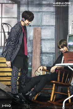 Lai guanlin x Kang daniel Jinyoung, Dan Lin, Jaehwan Wanna One, Ong Seung Woo, Swing, Nothing Without You, Lai Guanlin, Woo Young, Lee Daehwi