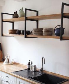 Home Kitchens, Small Kitchen Decor, Kitchen Inspirations, Home Room Design, Home Furniture, Home Decor Kitchen, Kitchen Interior, Interior Design Kitchen, Home Decor