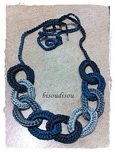 My chain crochet necklace                                                                                                                                                      More