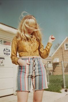 Vintage look - tavi gevinson's blog - Only missing the blouse at this point.