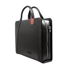 Aaron Irvin Single Zip Microfiber Women's Briefcase - AA-SZM