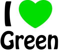 I love ❤ green. #Green #Heart